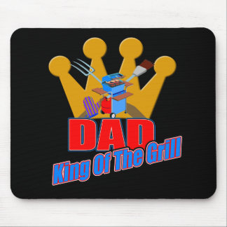 King Of The Grill Gifts For Him Mouse Pad
