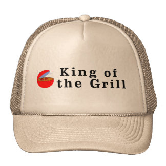 King of the Grill Mesh Hats