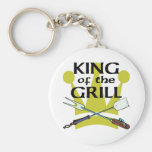 King of the Grill Key Chain