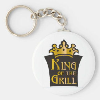 King of the Grill Key Chains