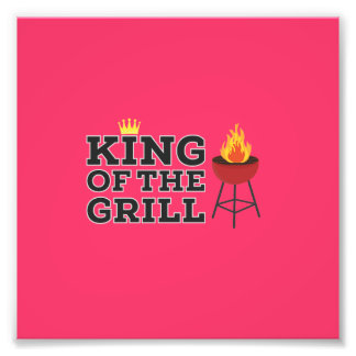 King of the grill photo art