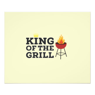 King of the grill photograph
