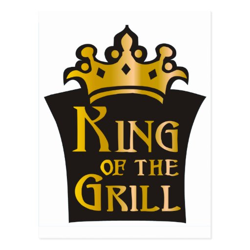 King of the Grill Postcards