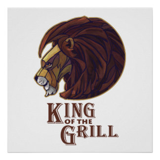 King of the Grill Poster