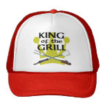 King of the Grill Trucker Hats