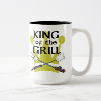 King of the Grill Two-Tone Mug