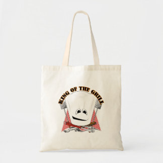 King of the Grill with Chef Hat and BBQ Tools Bags