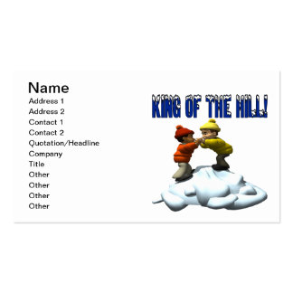 King Of The Hill Pack Of Standard Business Cards