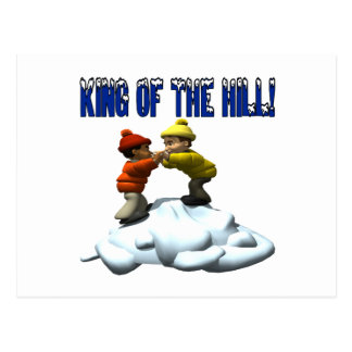 King Of The Hill Postcard