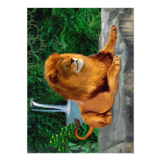 King of the Jungle Card