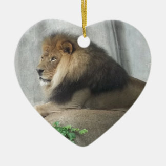 King of the Jungle Christmas Ornament