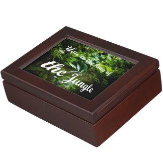 King of the jungle keepsake box