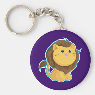 King of the Jungle Key Ring