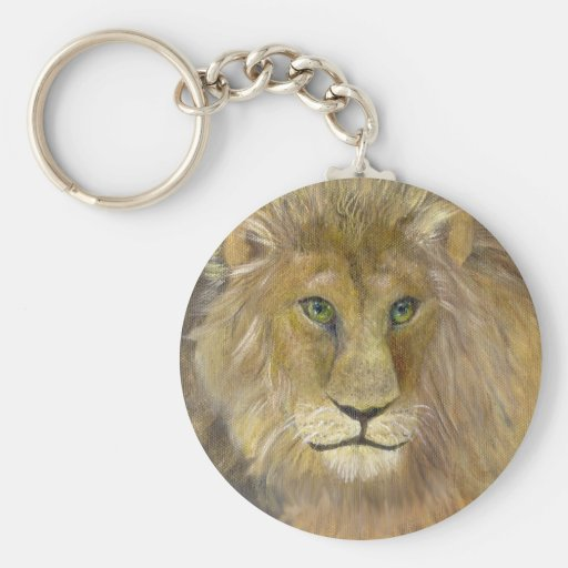 King of the Jungle Keychain