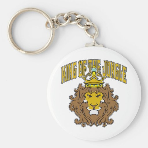 King of the Jungle Key Chain