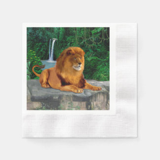 King of the Jungle Paper Serviettes
