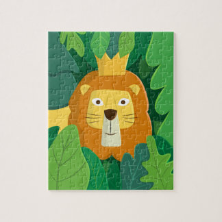 King of the Jungle Photo Puzzle with Gift Box
