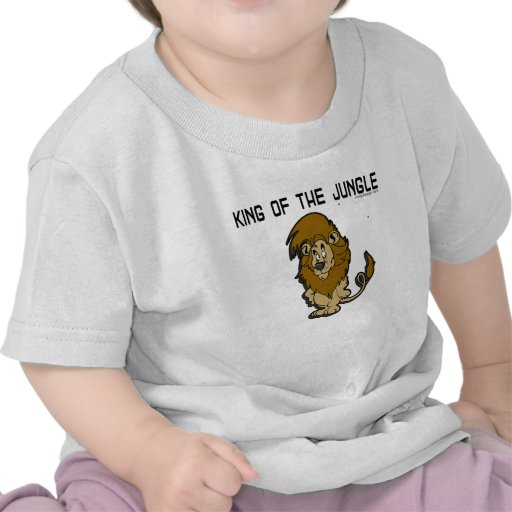 King of The Jungle T-Shirts