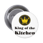 king of the kitchen anstecknadelbuttons