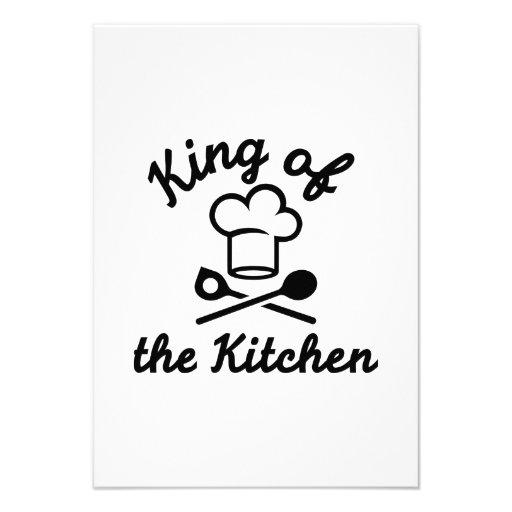 King of the kitchen invites