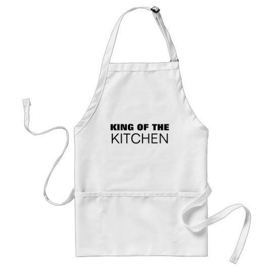 King of the Kitchen (White) Standard Apron