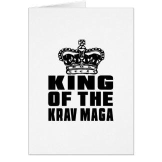 KING OF THE KRAV MAGA CARD