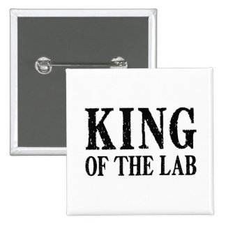 King of the Lab - Button