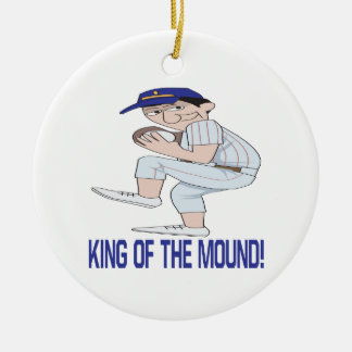 King Of The Mound Christmas Ornament