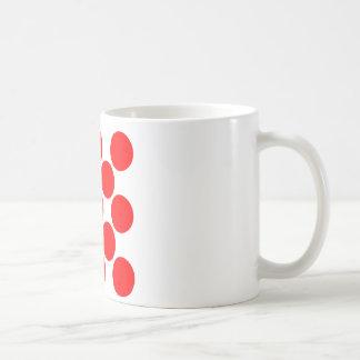 King of the Mountain dots Coffee Mug