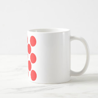 King of the Mountain dots Classic White Coffee Mug