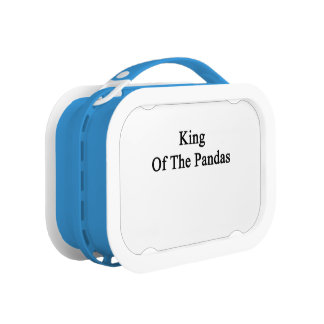 King Of The Pandas Lunchboxes