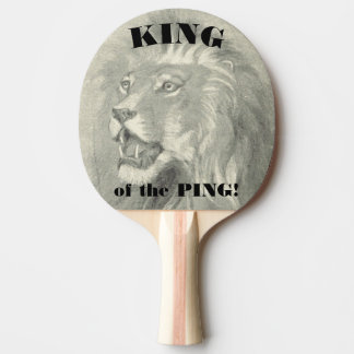 King of the Ping Lion Paddle