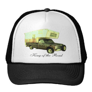 King of the Road - Vintage Truck Camper Cap