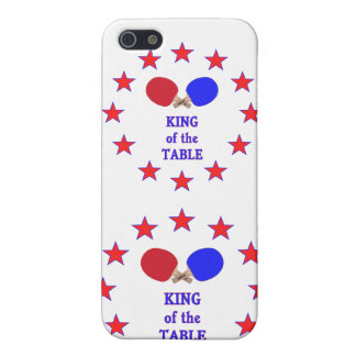 King of the Table Ping Pong Cases For iPhone 5