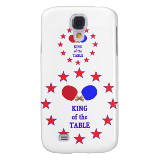 King of the Table Ping Pong Galaxy S4 Cases
