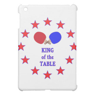 King of the Table Ping Pong iPad Mini Covers