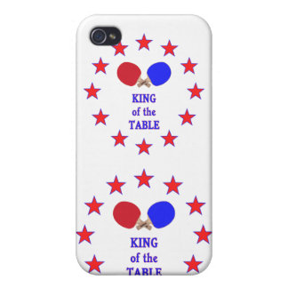 King of the Table Ping Pong Case For iPhone 4