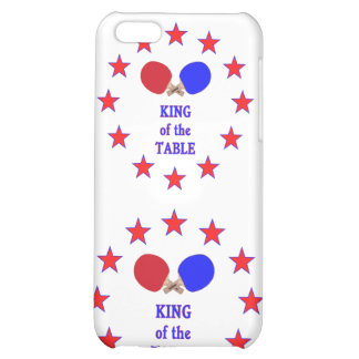 King of the Table Ping Pong Cover For iPhone 5C