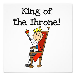 King of the Throne Custom Announcement