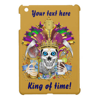 King of Time Mardi Gras View Hints Please iPad Mini Case