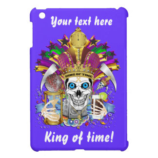 King of Time Mardi Gras View Hints Please iPad Mini Covers