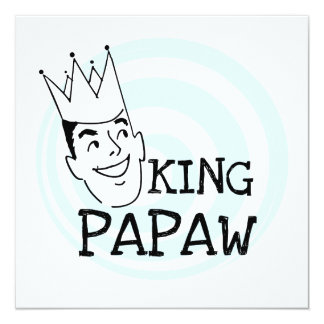 King Papaw T-shirts and Gifts Personalized Announcement
