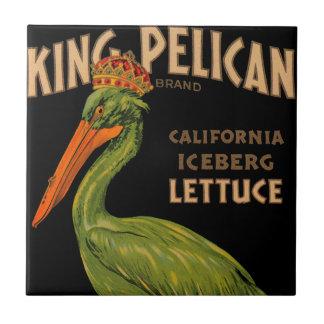 King Pelican Brand Lettuce Small Square Tile