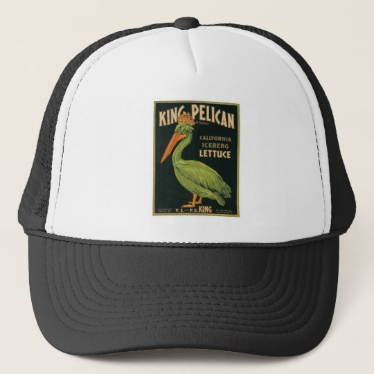 King Pelican Vintage Label Trucker Hat