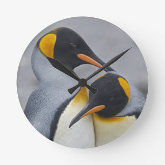 King Penguin Duet Clock