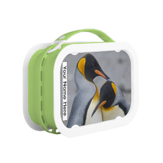 King Penguin Duet Personalised Lunchbox