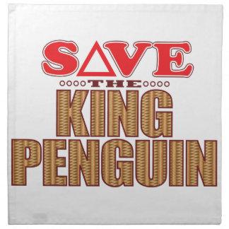 King Penguin Save Napkin
