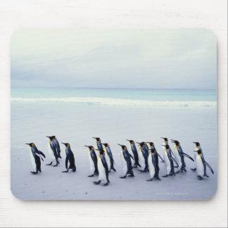 King penguins (Aptenodytes patagonicus) Mouse Mat