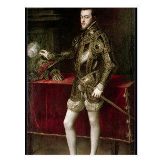 King Philip II  1550 Postcards