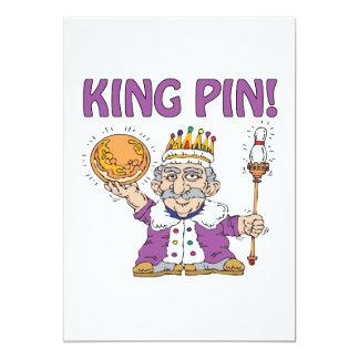 King Pin 13 Cm X 18 Cm Invitation Card